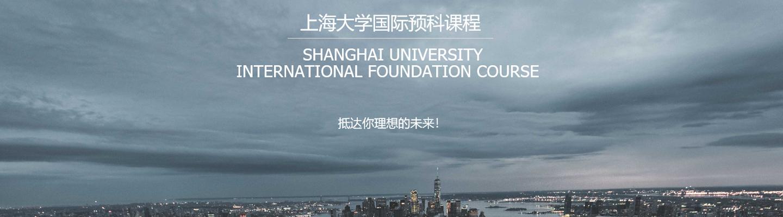上海大学国际预科课程 (综合类、艺术类)