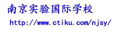 南京实验国际学校